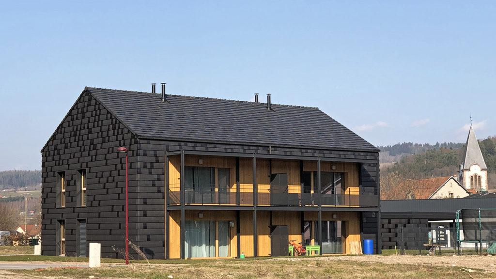 Prix Envirobat 2019 - Construction de 4 logements sociaux à Plainfaing (88)