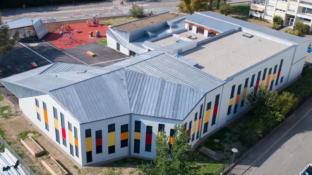 Prix Envirobat 2019 - Restructuration et extension passive de l'école de Lixenbuhl à Illkirch Graffenstaden (67)